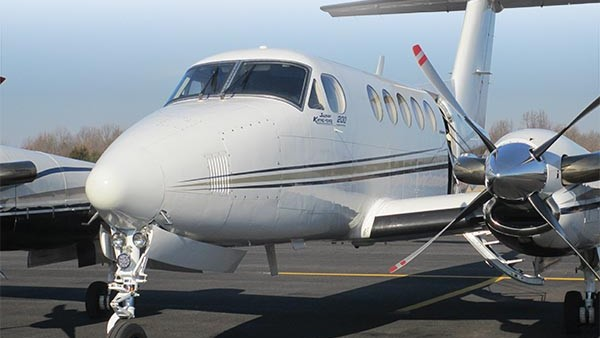 Making The Rounds In A Sturdy King Air