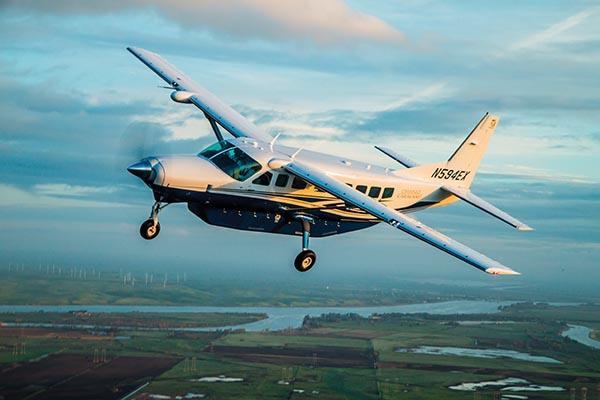 Flying the Grand Caravan EX