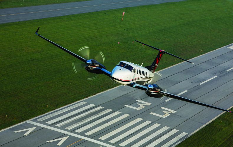Flying The King Air 350i Fusion