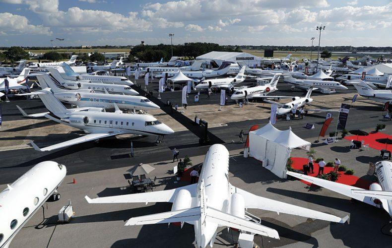 Business Aviation Lands in Las Vegas